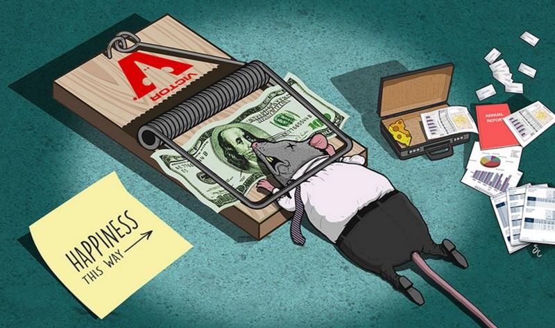 A geração que tenta ser uma geração que larga tudo para ficar rico e satisfeito, mas antes precisa pagar as contas
