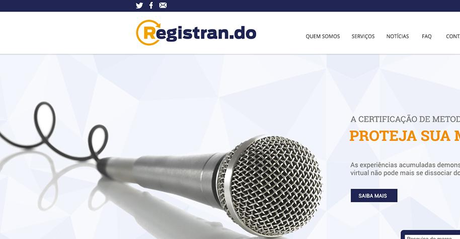 Registran.do: WordPress + E-commerce conceito