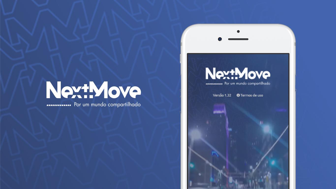 Aplicativo Next Move Compartilhamento