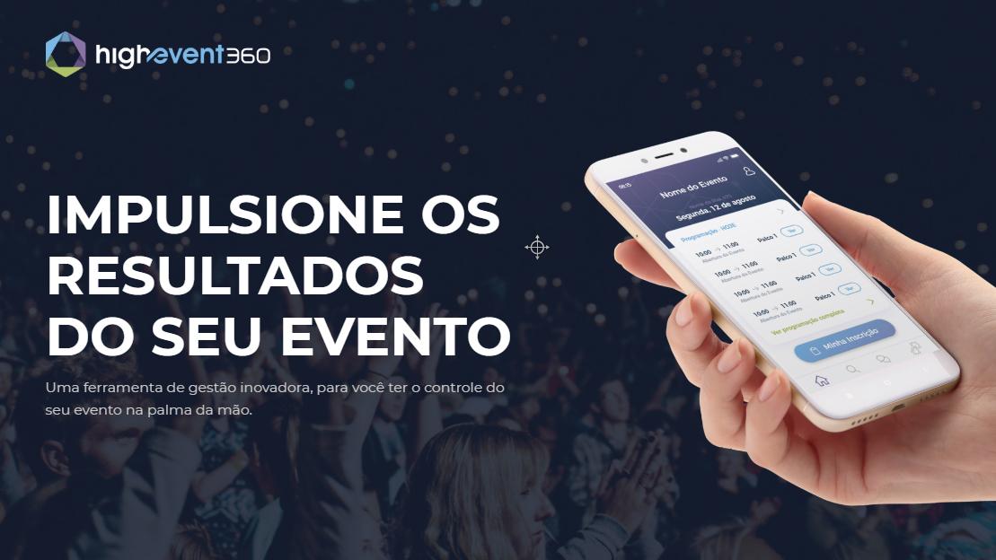 HighEvent360 Plataforma 360º para administração de eventos