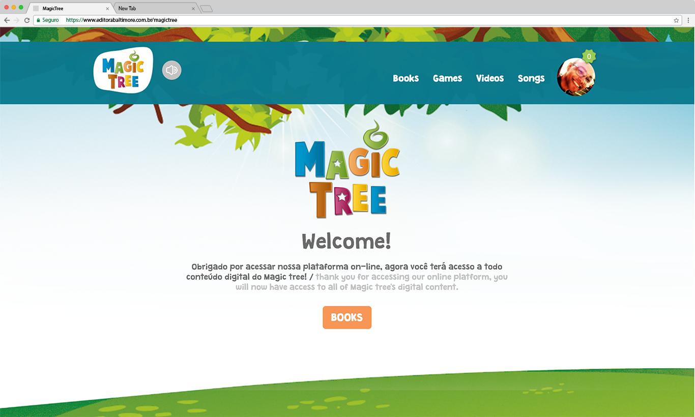 MagicTree: plataforma interativa para ensino de idiomas