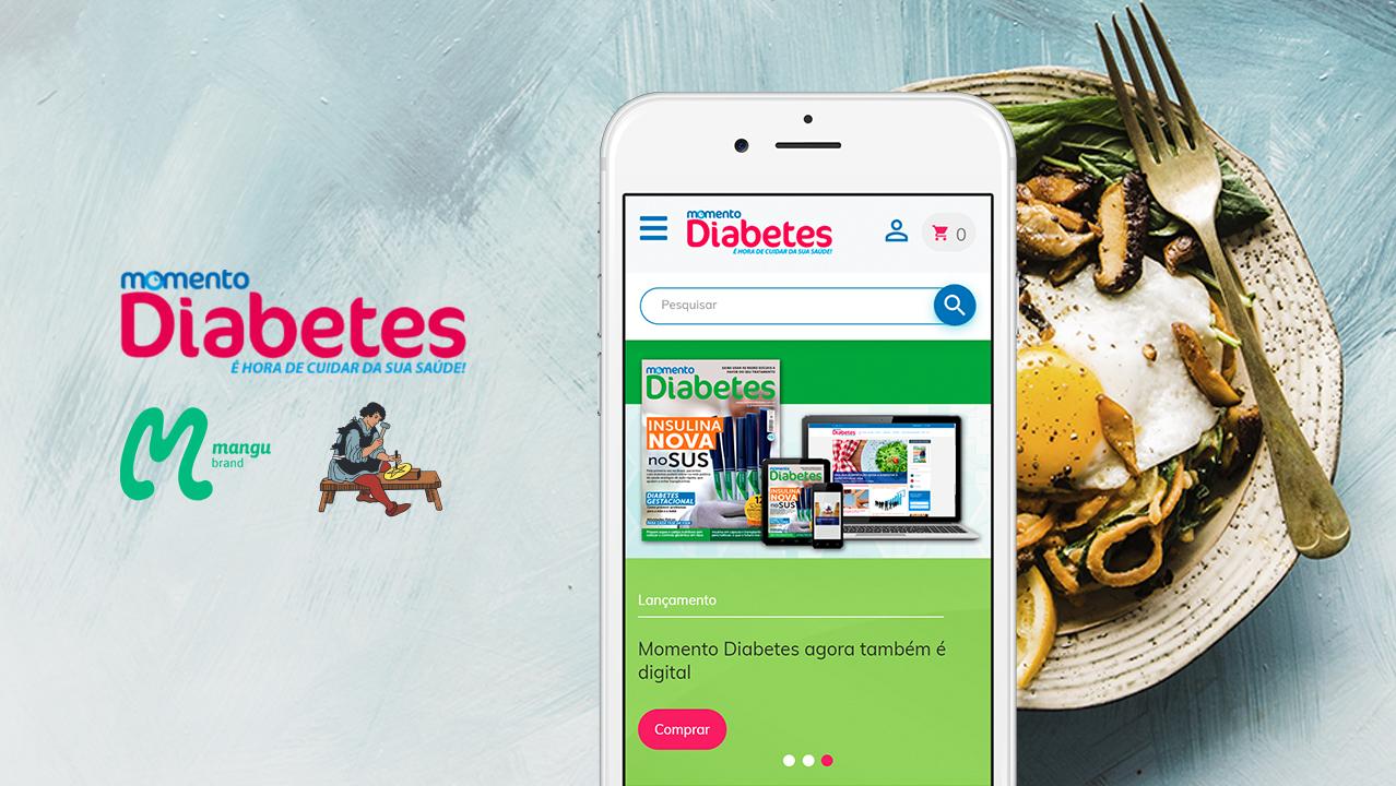 Momento Diabetes: WordPress, Loja Virtual, Clube de Assinantes e Fórum