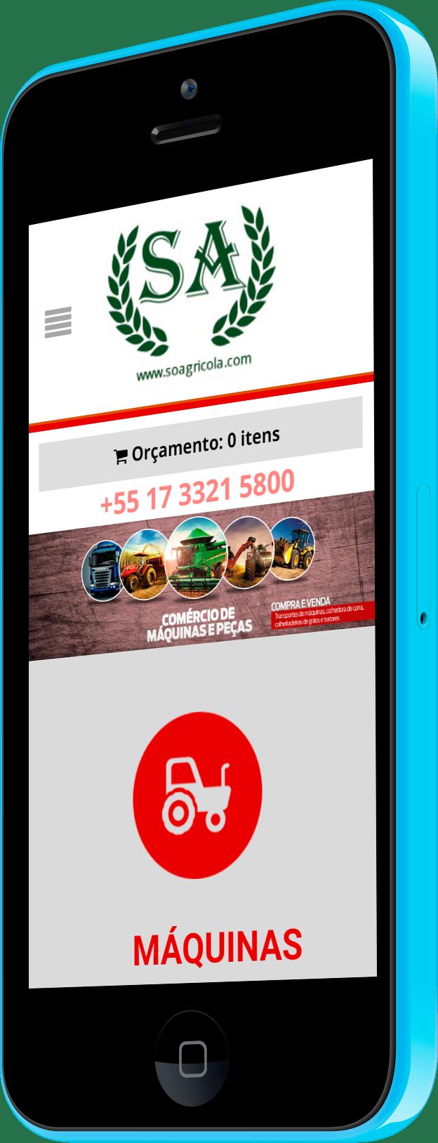 Imagem do portfólio Sistema de Orçamentos WooCommerce – SóAgricola 2018