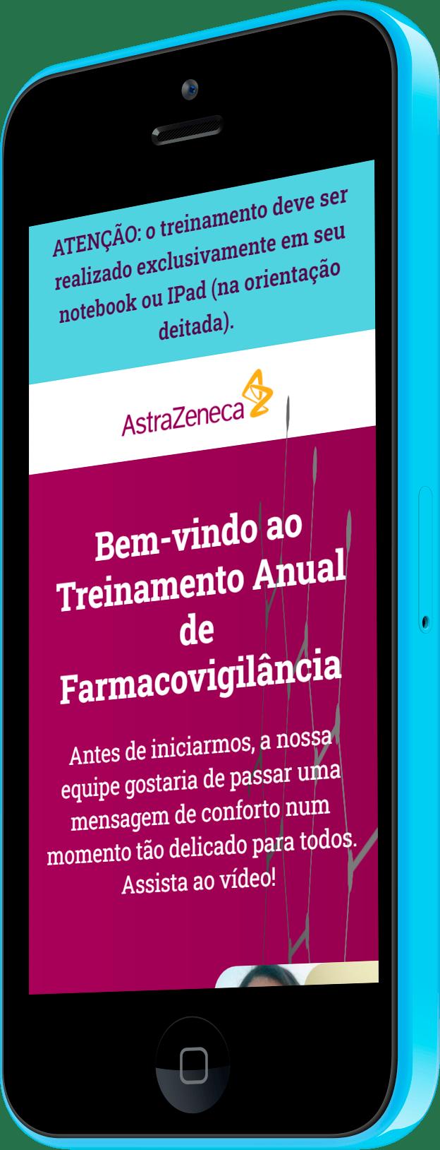 Imagem do portfólio Astrazeneca Treinamento Farmaco 2020