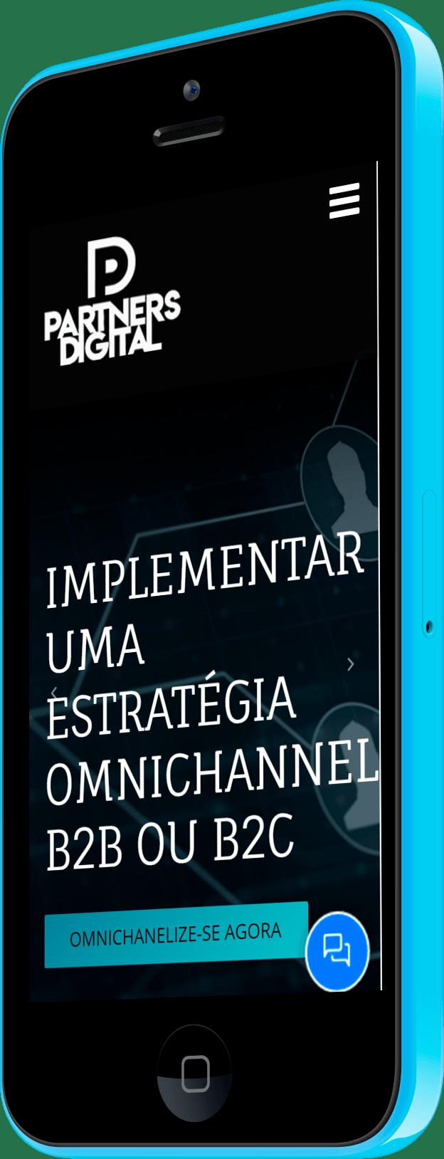 Imagem do portfólio Partners Digital Portugal – WordPress